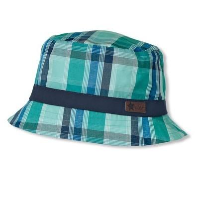 Letný bavlnený klobúčik pre chlapcov s UV 50+ zelený