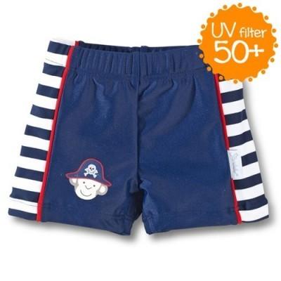 Plavky s UV 50+ pre chlapcov tmavomodré