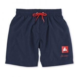 Plavkové šortky s UV 50+ pre chlapcov tmavomodré