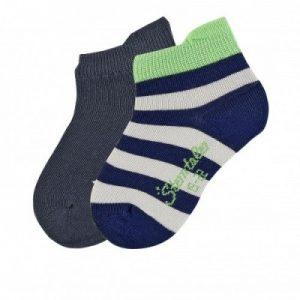 Detské ponožky pre chlapcov tmavomodré