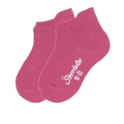 Jednofarebné ponožky pre dievčatá ružové