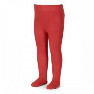 Bavlnené pančuchy UNI červené