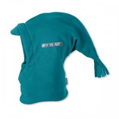 Kukla na zimu s rúškom pre chlapcov zelená