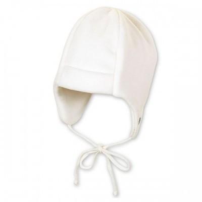 Zimná flisová čiapka UNI biela