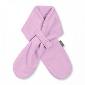 Detský zimný šál z jemného flisu pre dievčatá ružový