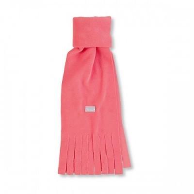 Detský zimný šál so strapcami pre dievčatá lososový