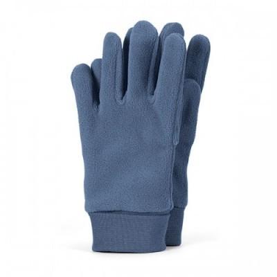 Detské zimné prstové rukavice pre chlapcov modré