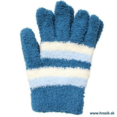 Prstové rukavice pre chlapcov modré