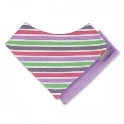 Šatka okolo krku pre dievčatá fialová