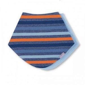Šatka okolo krku pre chlapcov modro-oranžová