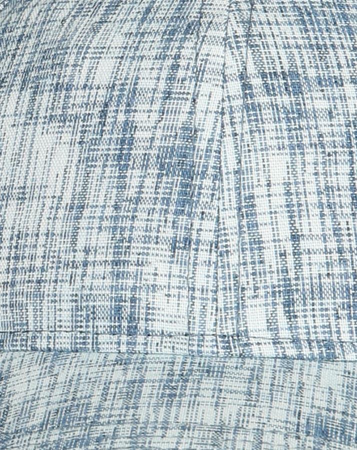 Letná bavlnená šiltovka pre chlapcov modro-sivá